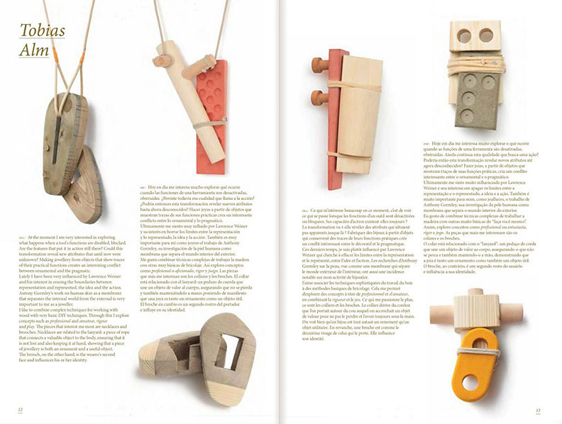 Tobias Alm in Éclat: The Masters of New Jewelry Design